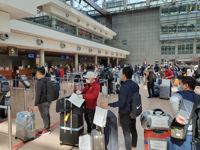 New Batch of Filipino Crew of AIDA Cruises Return to the Philippines