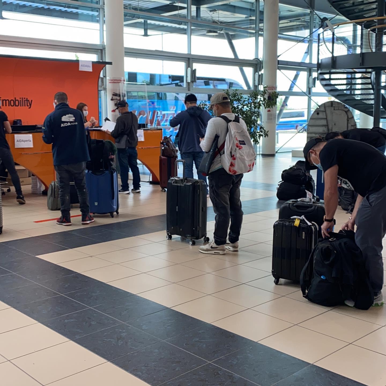 New Batch of Filipino Crew of AIDA Cruises Return to Germany