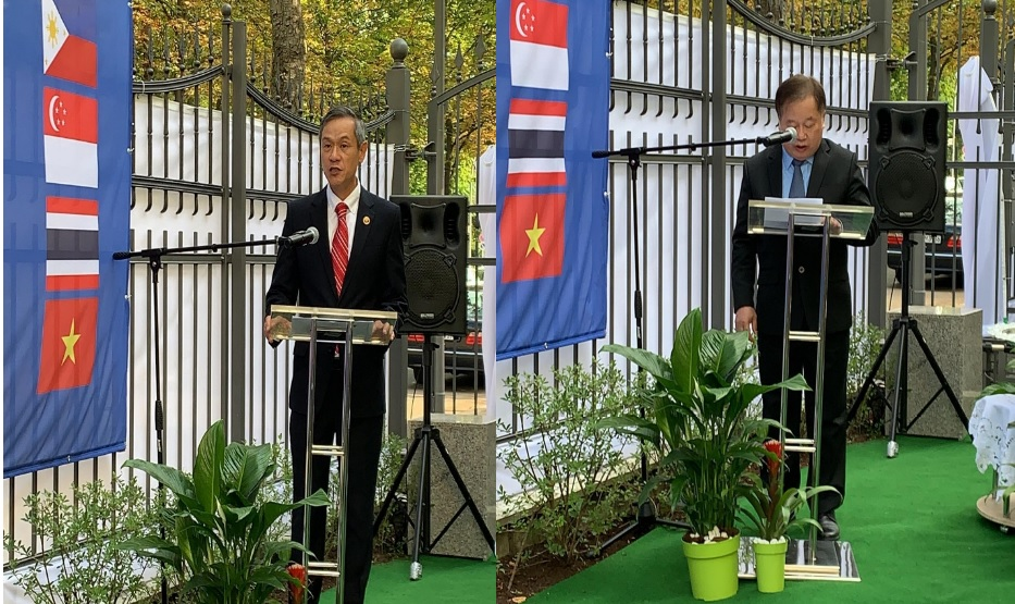 Philippine Embassy Joins 53rd ASEAN Day Commemoration in Berlin