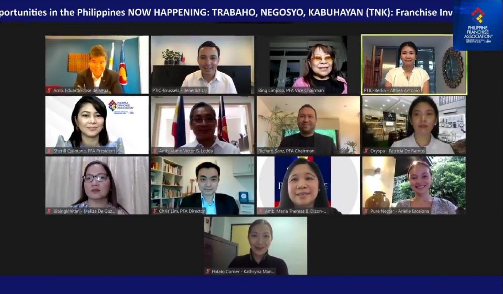 Filipino Community Members in Germany Join TNK Franchising Webinar