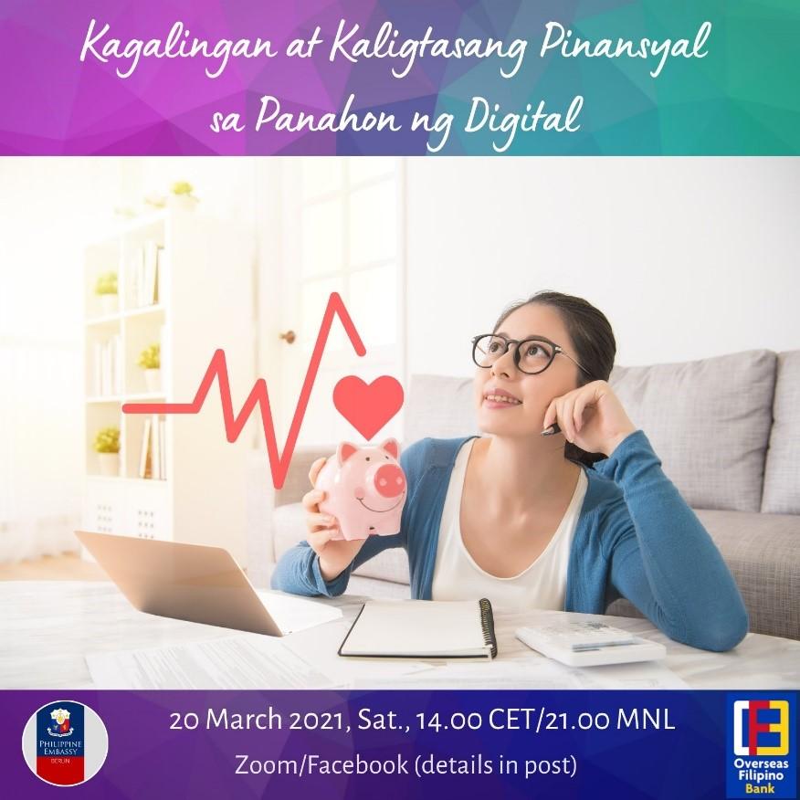 Philippine Embassy partners with OFBank for digital FinLit webinar