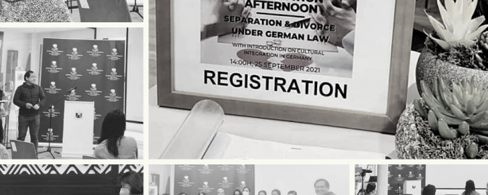 PHILIPPINE EMBASSY IN BERLIN HOSTS FIRST INFORMATION AFTERNOON ON GERMAN INTEGRATION, AND SEPARATION AND DIVORCE UNDER GERMAN LAW